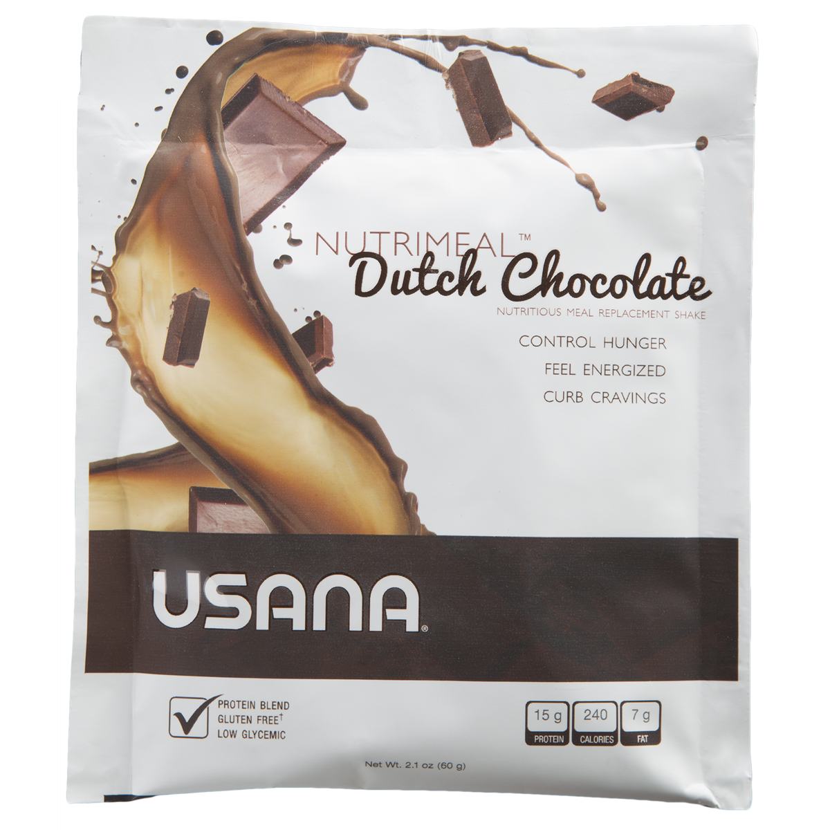 USANA - Nutrimeal Single- Dutch Chocolate Protein Drink Mix