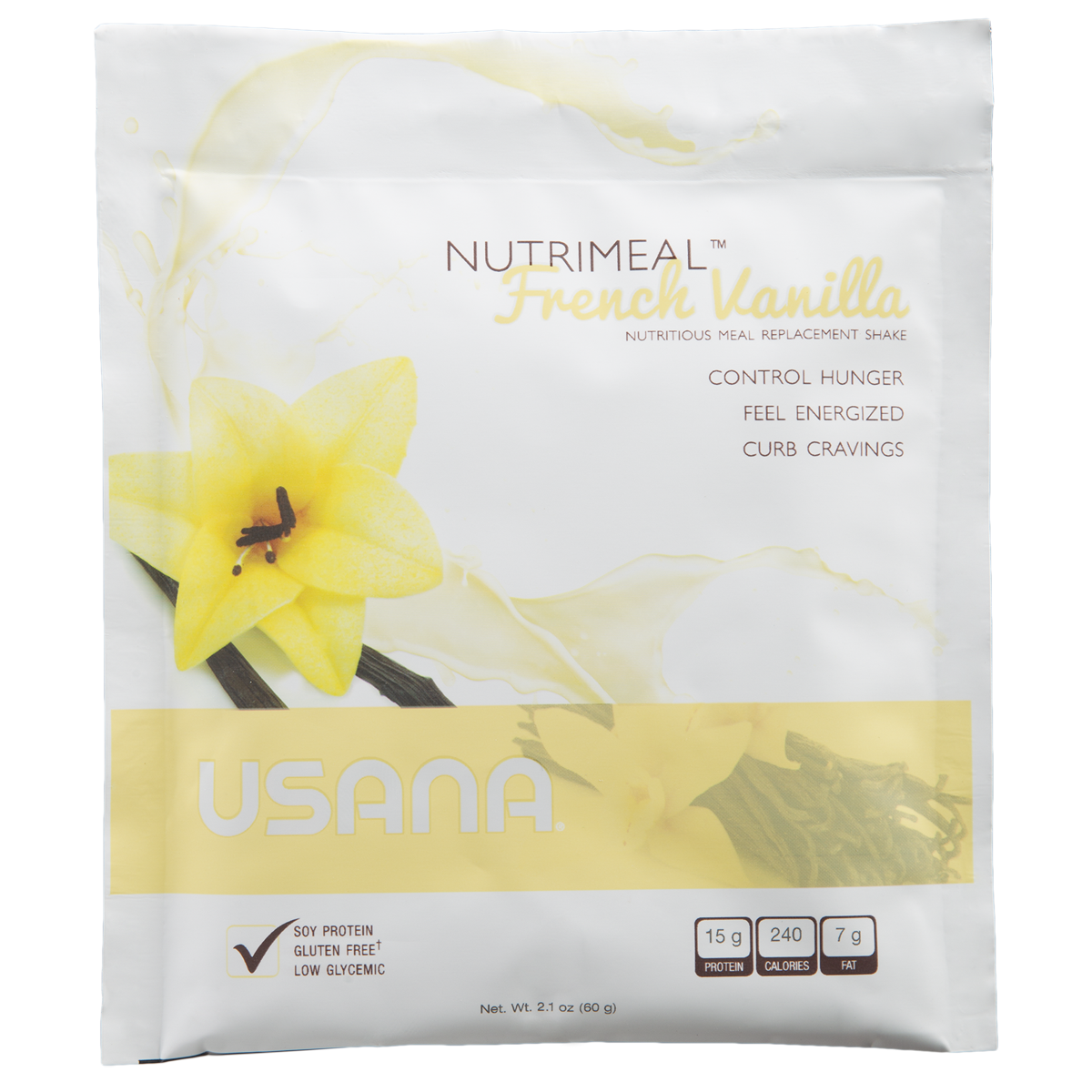 USANA - Nutrimeal Single - French Vanilla Protein Drink Mix